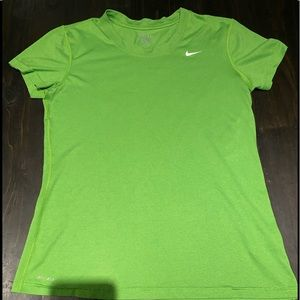 Nike  green Drifit T-shirt